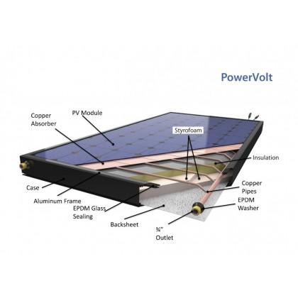 SOLIMPEKS Solar Heater System Wunder ALS 300L/400L/450L