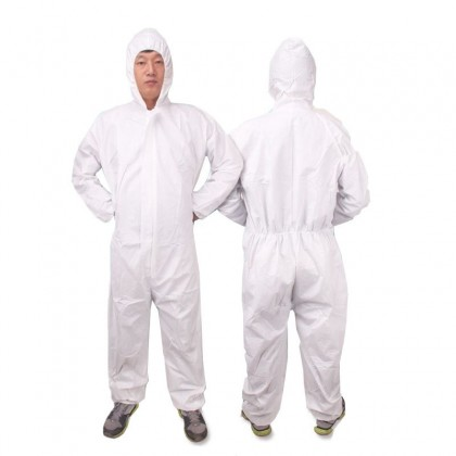 Protective White Coverall (XL)
