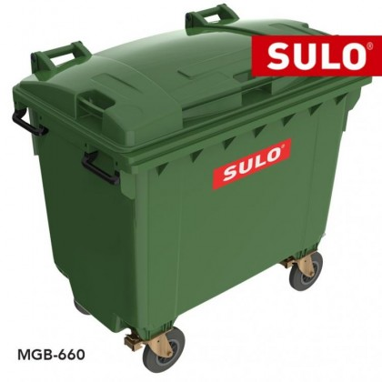 SULO Wheeled Garbage Bin - 660L
